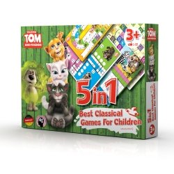Talking Tom & Friends set družabnih iger 5 v 1