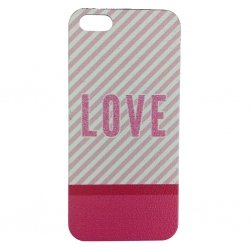 Ovitek za telefon iPhone SE / 5 / 5S COVER LOVE
