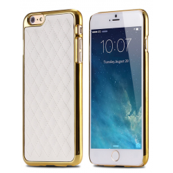 Ovitek za telefon iPhone 6 / 6S COVER COCO STYLE WHITE GOLD