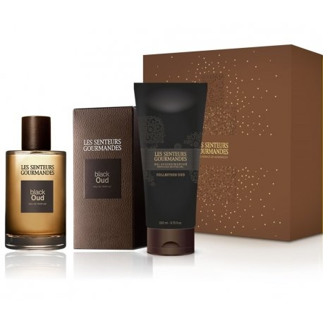 Moški darilni set Black Oud Collection (Les Senteurs Gourmandes)