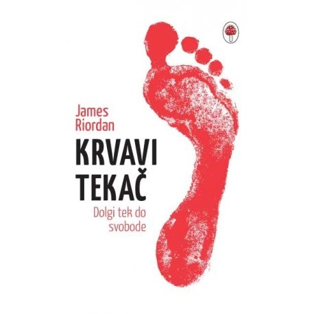 Knjiga Krvavi tekač (Blood runner)